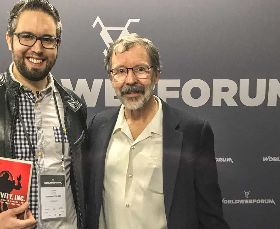 Stefan Vetter and Ed Catmull
